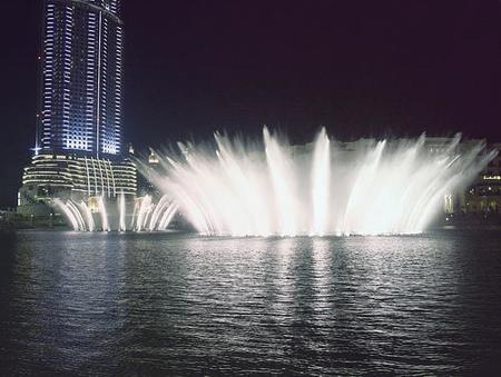 Vídeo: la fuente de Dubai en funcionamiento