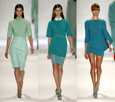 Davidelfin primavera-verano 2010 en la Semana de la Moda de Nueva York