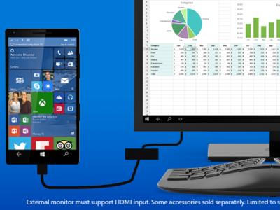 BUILD 2015: Los móviles con Windows 10 también tendrán escritorio, gracias a Continuum for phones