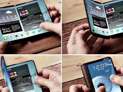 Los móviles plegables llegarán al mercado este año, Samsung y LG serán los pioneros