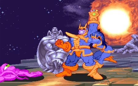 Aún no me he repuesto del final de Avengers: Infinity War, así que me he quitado el mono con Thanos en Marvel Super Heroes