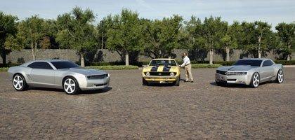 Ed Welburn Chevrolet Camaro Concetps