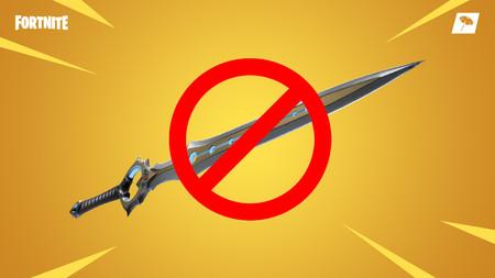 La locura de la Hoja del Infinito es historia, el arma será enviada al almacén de Fortnite por el bien de todos