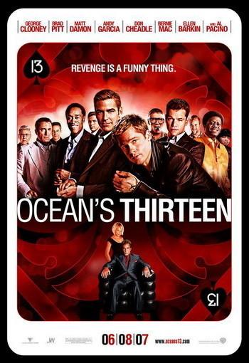 Nuevo póster de 'Ocean´s Thirteen'