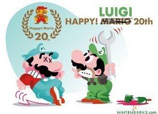Ea ea ea, Luigi se cabrea