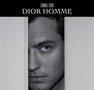 Jude Law en la campaña para el perfume Dior Homme
