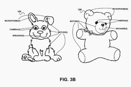 Entre las patentes de Google nos encontramos con un peluche conectado que nos reconoce