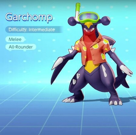 Splash Art Garchomp Pokemon Unite