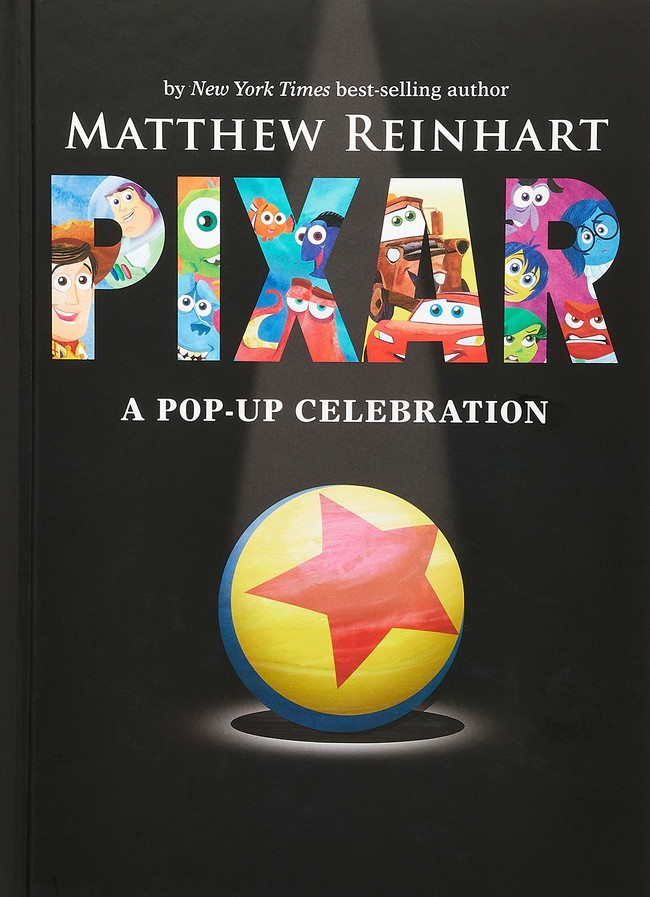 Libro Pop-up Pixar
