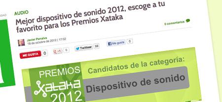 Vota por los mejores en los Premios Xataka