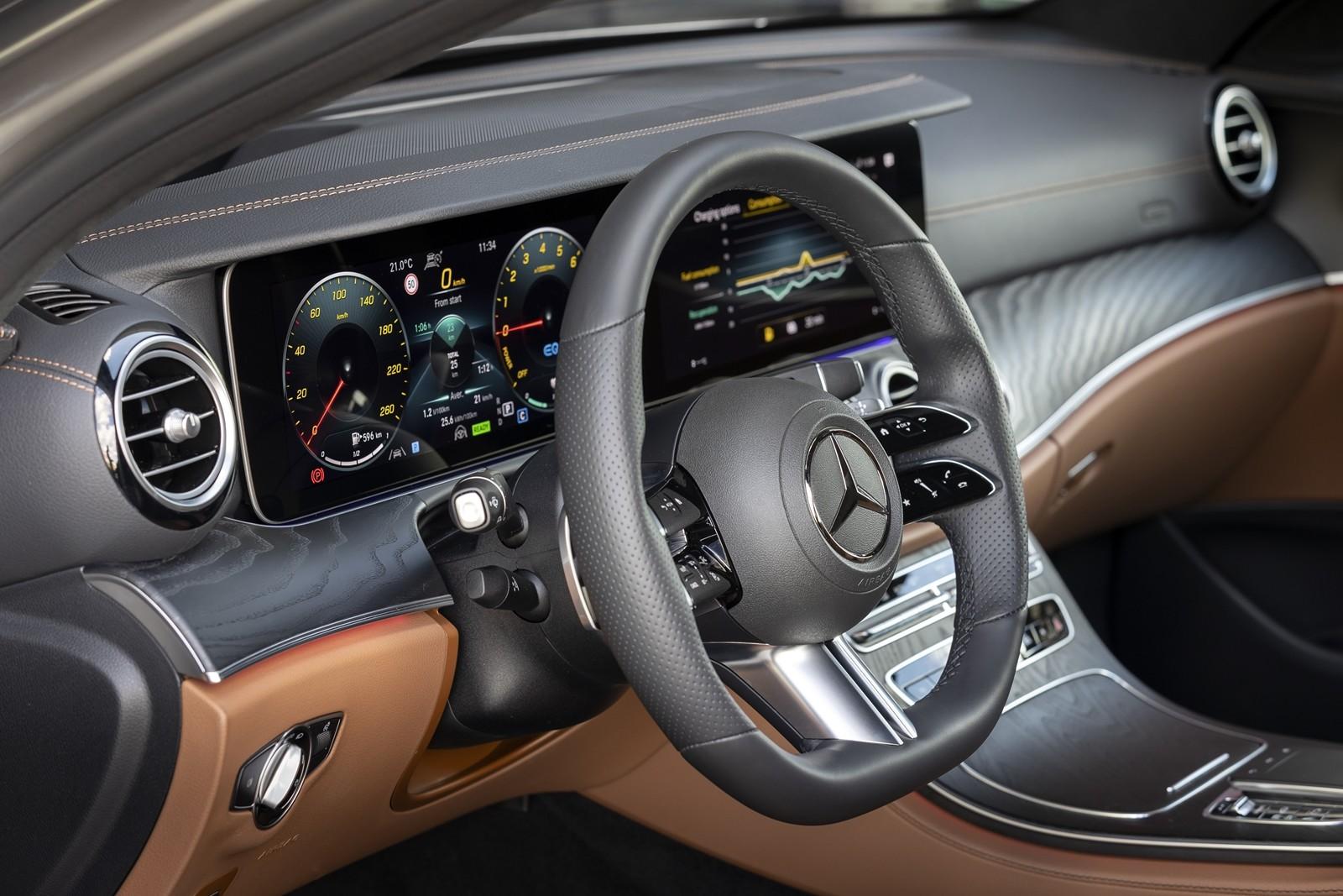 Foto de Mercedes-Benz Clase E 2020, prueba contacto (54/135)