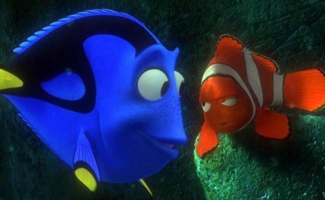 Imagen de la película Buscando a Nemo