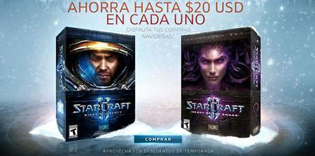 Starcraft II y World of Warcraft en oferta en Battle.net