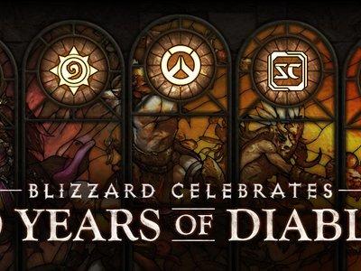 Blizzard celebra los 20 años de Diablo por todo lo alto y el resto de sus juegos se suman a la celebración