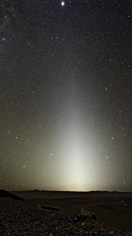 Zodiacal Light Seen From Paranal
