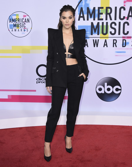 mejor vestidas american music awards 2017 hailee steinfeld