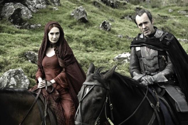 Juego de Tronos: Stannis y Melisandre
