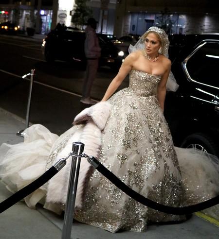 Vestido Novia Jennifer Lopez 1