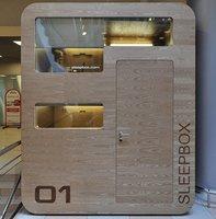 Sleepbox, cabinas para descansar en aeropuertos y estaciones de tren