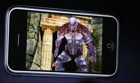 Juegos en el iPhone 3G