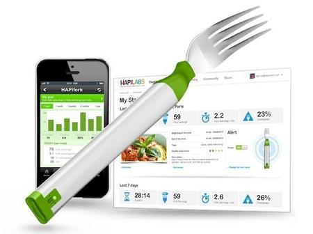 HAPIfork, el tenedor que te ayuda a comer sin prisas