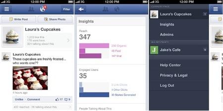 Facebook lanza Page Manager una aplicación para administrar páginas de empresas desde iOS