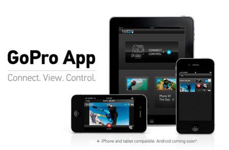 GoPro y las aventuras extremas llegan al iPhone en forma de aplicación