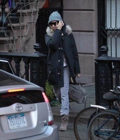 Looks abrigo frío celebrities: Sarah Jessica Parker