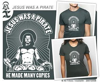 Camiseta Jesus was a Pirate
