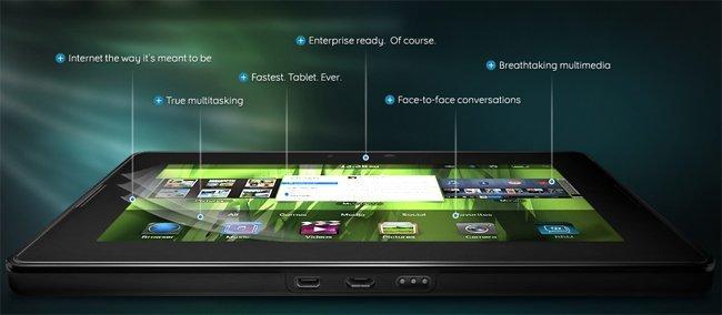 Nueva BlackBerry PlayBook de RIM