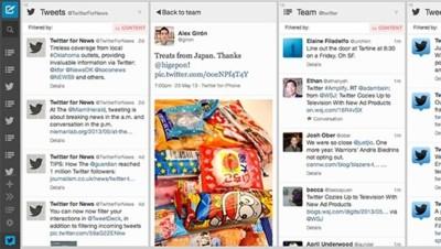 TweetDeck se lava la cara en sus versiones web