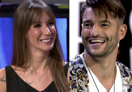 Fani Carbajo tontea con el soltero Matías aka Anaconda en el debate de 'La Isla de las Tentaciones 2'