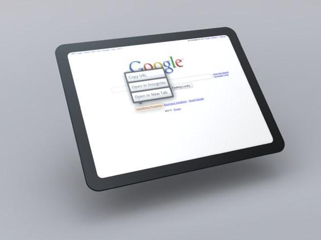 Foto de Mockup del Tablet OS de Google (1/7)