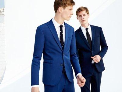 Todos los trajes de Zara se tiñen de azul para el verano