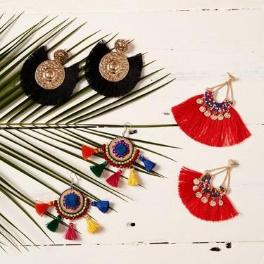23 pendientes de flecos para lucir este verano. Zara, Mango, Uterqüe, H&M... nos los proponen así de ideales