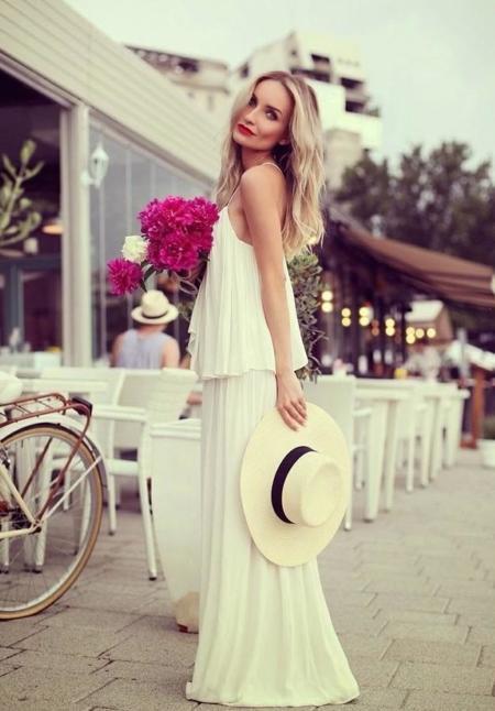 El blanco, el color más glamuroso del verano
