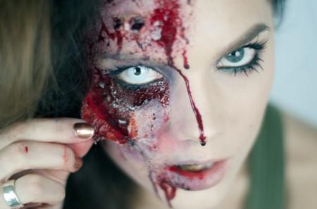 ¿Quién quiere ser sexy pudiendo ser terrorífica? Los maquillajes más creepy para este Halloween