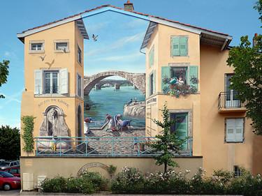 Murales urbanos que te van a sorprender por su realismo