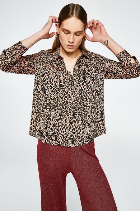 camisa leoparfo
