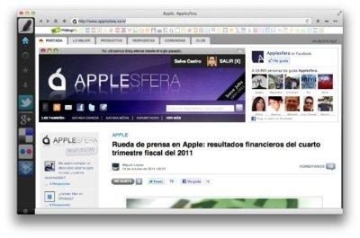 Raven, un navegador diferente y con apps a lo Chrome