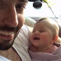 El vídeo viral más divertido de papás y bebés con el que morirás de ternura