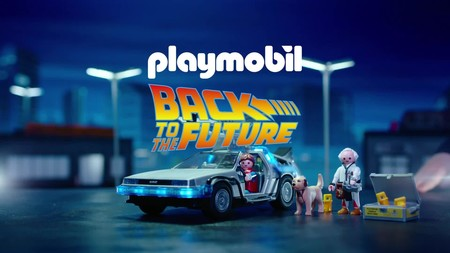 Aviso a nostálgicos de los 80s: Regreso al Futuro de Playmobil o Star Wars de Lego rebajadísimos en Amazon
