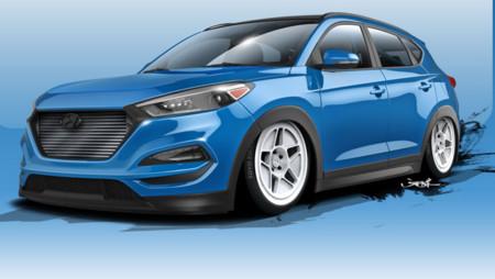 Hyundai prepara un Tucson de 700 CV para el SEMA