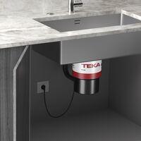 Teka presenta The Eraser, su nueva gama de trituradores de desechos orgánicos que podrás acoplar a tu fregadero