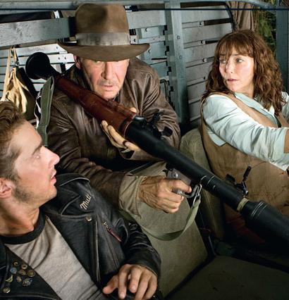 Nueva foto de 'Indiana Jones y el Reino de la Calavera de Cristal'