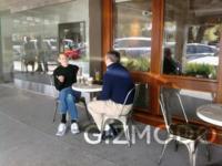Imagen de la semana: Steve Jobs y Eric Schmidt, pillados tomando café