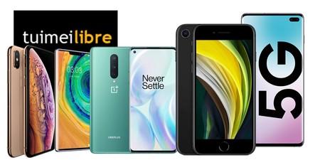 Varios modelos de iPhone, el nuevo Xiaomi Mi 10 o el OnePlus 8 son más baratos en las ofertas de la semana de tuimeilibre