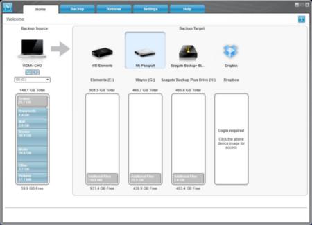 WD SmartWare Pro gestiona tus copias de seguridad incluso en la nube