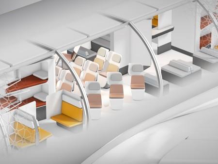 Con este avión modular es como Airbus busca cambiar radicalmente (y para siempre) la experiencia de volar
