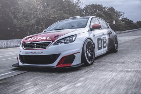 Peugeot 308 Racing Cup: nacido para las carreras